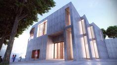 CENTRO SOCIO-ASISTENCIAL EN TIBI, Iniciando su ejecución. 2015 Opera House, Multi Story Building, Centre, Opera