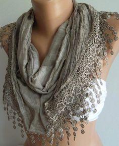 Scarf  Cotton Soft Scarf   Shawl by womann on Etsy, $23.90