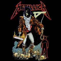 METALLICA - PUSHEAD ART
