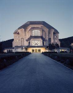 Goetheanum, Dornach, France. Rudolf Steiner. expressionism