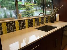 Clayhaus Ceramic Tile's Photos from their FB page | Backsplash as idea for shower accent wall.