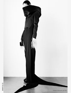 Matthieu Belin shoots Qiu Hao designs for Tantalum Magazine