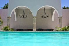 Life is great when you're floating in the pool at The Diplomat Boutique Hotel #Merida #Mexico #travel
