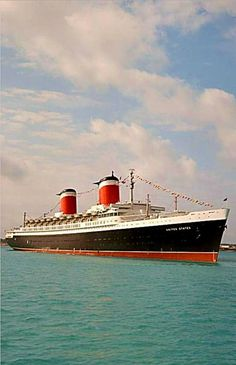 I crossed the Atlantic in 65 on the S.S. UNITED STATES - France to New York.  Captain told my dad it was the roughest crossing he had ever done.  I loved it and was the only one NOT to get sick!