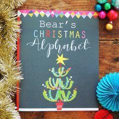 Christmas Alphabet, Alphabet Book, Square Photos, Mistletoe, Jingle Bells, The Book, Unique Gifts, Letters, Messages
