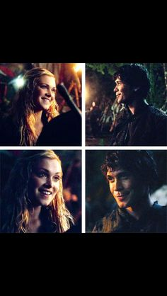 The 100- Bellamy and Clarke ❤❤❤❤❤ My life is over