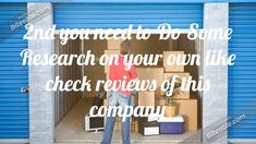 3 Tips on Finding the Right Storage Facility Free Move, Best Movers, Storage Facility, Stress Free, Make It Yourself, Website, Tips, Counseling