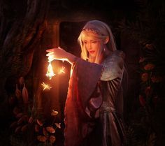 Forest elf by ElenaDudina.deviantart.com on @DeviantArt