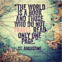Quotes for Motivation and Inspiration QUOTATION – Image : As the quote says – Description The world is a book… St. Augustine quote Know some one looking for a recruiter we can help and we'll reward you travel to anywhere in the world. Email me,. Book Quotes, Me Quotes, Motivational Quotes, Inspirational Quotes, Qoutes, See You Soon Quotes, Humour Quotes, Quotes Pics, Funny Quotes