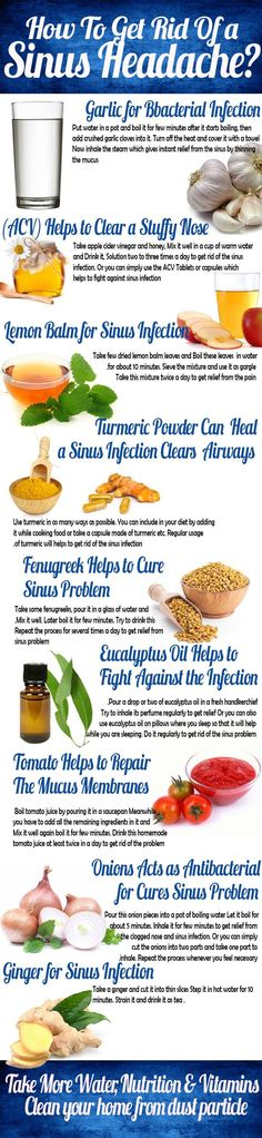 How To Get Rid of a Sinus Headache?