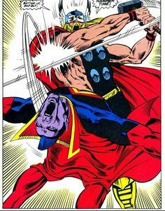 Thor vs. Gladiator