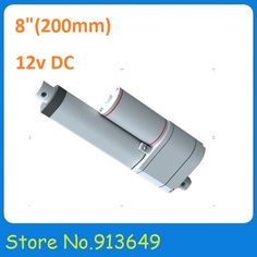 check discount 8inch 200mm stroke position feeback linear actuator with potentiometer12v dc #electric #linear #actuator