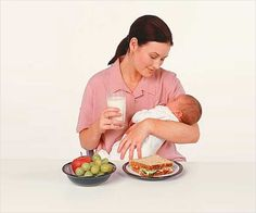 What to eat while breastfeeding is an important question that needs to be answered.The mother can get the vital nutrients either through the food she eats.