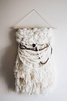 Woven Wall Hanging/Weaving Wall Hanging/Wall Weaving / Woven