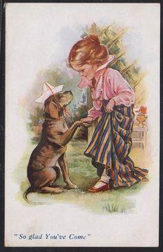 NINA BRISLEY postcard 1919   eBay