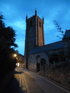ST IA   St Ia's Church, St Ives, Cornwall: St Ia's Feast Day is 03 February     ✫ღ⊰n
