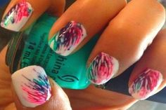 Getting nails done at the salon | Pretty nail designs | Party nail designs 2013 | Pretty nail designs to do at home