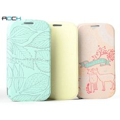 ROCK Forest Series Side Flip Leather Case For Samsung Galaxy SIII S3 I9300 I9308 US$23.99