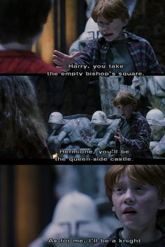 we were so little then...we grew up together  #harrypotter #ronweasley #90skid