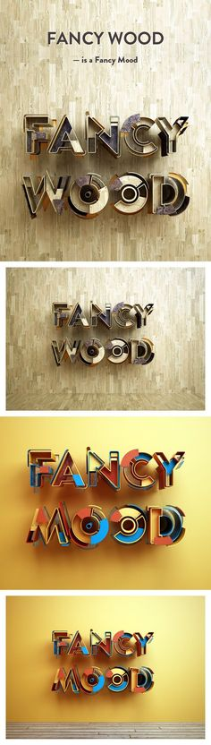 Fancy Wood is a Fancy Mood | Showcase San - Discover the best of creativity online!