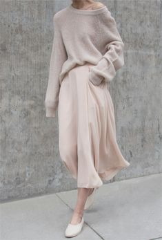 Minimalist outfit with neutrals