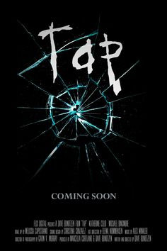 Tap horror short film movie poster. Tap stars Katherine Celio and Michael Dinsmore will premiere on the Flix Horror Youtube channel.