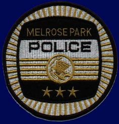Melrose Park Police Patch