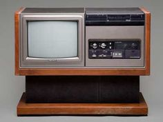 we had this tv / Beta max combo in the 1980s