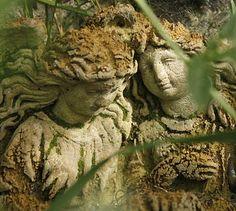 companion garden statues