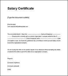 experience certificate sample format best templates pinterest