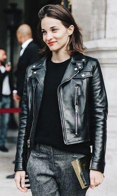 The leather jacket i