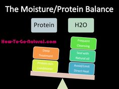 To maintain healthy natural hair, you have to balance moisture and protein. You need moisture to keep  hair from breaking. You need protein so hair is able to hold the moisture you give it.