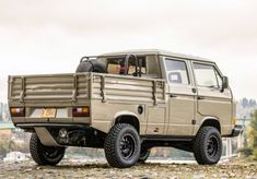 Bid for the chance to own a Modified 1989 Volkswagen Doka Syncro at auction with Bring a Trailer, the home of the best vintage and classic cars online. T3 Camper, Kombi Motorhome, Campervan, Volkswagen Auto Group, Volkswagen Bus, Transporter T3, Volkswagen Transporter, Jeep Cars, Vw Cars