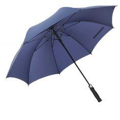 Drop Shipping Automatic Umbrella Long Straight Handled Strong Windproof Waterproof 8 Ribs Umbrella Super Large 4 Colors