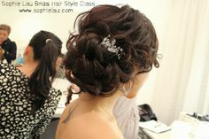 Asian wedding makeup Asian Bridal makeup bridal hair style www.sophielau.com