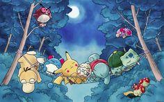 Under the moon Wallpaper - 50 Lovely Pokemon Wallpapers  <3 <3