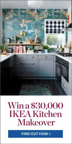 $30,000 Kitchen Makeover Contest |  WIN the kitchen of your dreams courtesy of IKEA! | Contest closes November 6, 2014. Open to residents of Canada excluding Quebec. | #contest #kitchen #ikeakitchen #kitchendesign #prize
