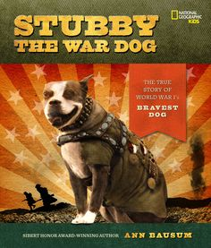 Stubby started as a stray and was adopted by the 102nd Infantry when they were training in Connecticut. He participated in 17 battles on the Western Front and became the most decorated war dog of World War I. #WWI #tbt Stubby the War Dog   National Geographic Store