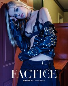 Factice Magazine Summer 2017 Frida Aasen by Fumie Hoppe