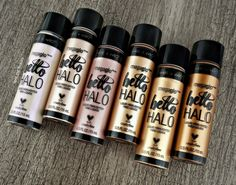 Wet n Wild Hello Halo Liquid Highlighter Can Makeup, Hard Candy Makeup, Drugstore Makeup Dupes, Makeup 101, Makeup Geek, Beauty Makeup, Makeup Products, Beauty Dupes, Beauty Products