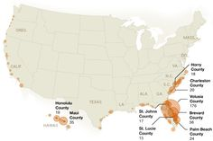 See Where Most Shark Attacks Happen in the United States