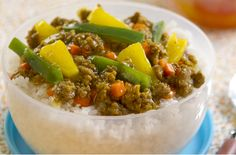 Pineapple Beef Rice Toppings   Del Monte Philippines http://www.delmonte.ph/kitchenomics/recipe/pineapple-beef-rice-toppings