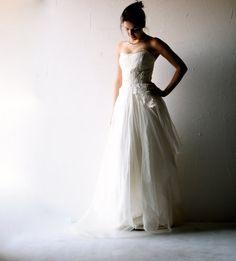 Wedding dress Boho wedding dress Bohemian wedding di larimeloom
