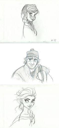 Drawings Ideas The Official Disney Mom Cheryl Hansen talks about Disney's Frozen Disney Frozen, Frozen Art, Disney Love, Disney Magic, Disney Art, Disney Sketches, Disney Drawings, Cool Drawings, Art Sketches