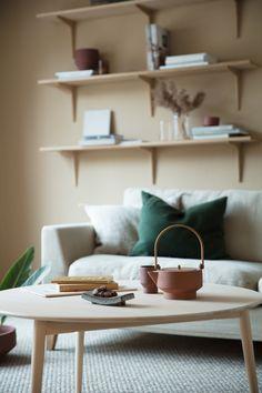 Beige and terracotta living room - COCO LAPINE DESIGN