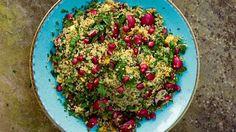 Nigella Lawson's quinoa salad with walnuts, radishes andpomegranate recipe | The Sunday Times Magazine | The Times & The Sunday Times