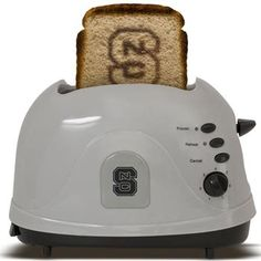 NC State Wolfpack Toaster-- so he can have team spirt morning, noon, and night