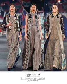 BALIJAVA by Denny Wirawan. 'Pasar Malam' Collection 2015/ 2016. Grand Ballroom Hotel Indonesia - Kempinski. September 3rd, 2017
