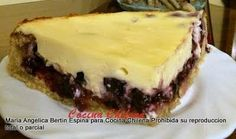 .COCINA CHILENA: KUCHEN DE ARÁNDANOS My Recipes, Sweet Recipes, Chilean Recipes, Chilean Food, Hand Pies, Sweet And Salty, Good Food, Food And Drink, Sweets