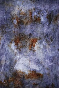 Goat Feathers: Rust Dyeing Fabric